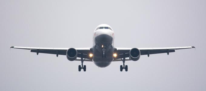 A Plane Landing